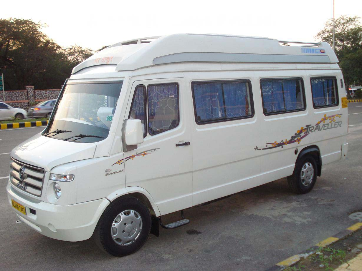 Hire the best quality Tempo Traveller